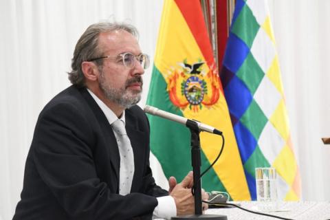 Jorge Richter vocero presidencial