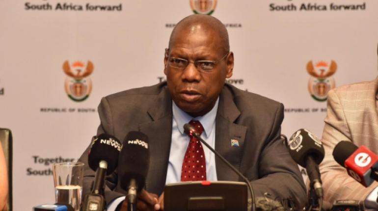 El Ministro de Salud de Sudáfrica, Zweli Mkhize. | Foto archivo | EFE